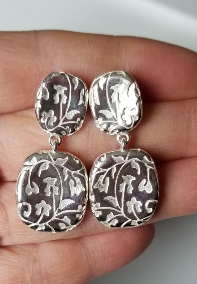 TOUS Silver Ivy Ring & Earrings (Set)