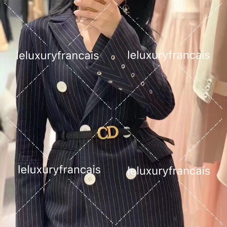 Well Fit From Casual To Cocktail - Christian Dior Nylon Saddle Belt