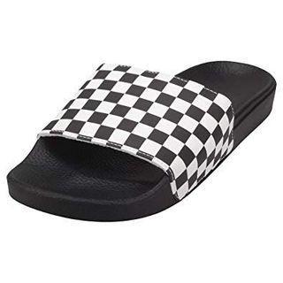VANS sandals Slide-On Checkerboard Black / White
