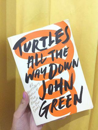 Novel Import Turtles All The Way Down by John Green