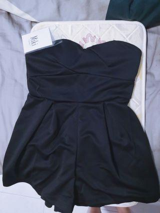 BN with tag romper