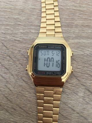Casio Gold Color Watch