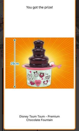 Tsum tsum 朱古力噴泉 自制 日本直送 chocolate fountain machine