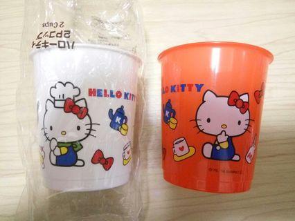 Hello Kitty 膠杯仔 77×70mm