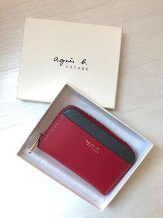 🚚 Agnis B (New) Card & coin Holder (Authentic)