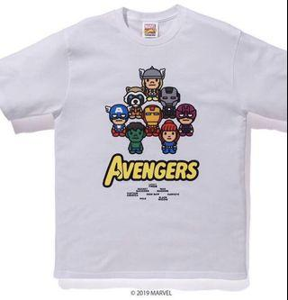 Bape x Avengers Babymilo Tee