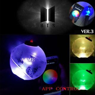 Pre army bomb lightstick ver3 with Bluetooth
