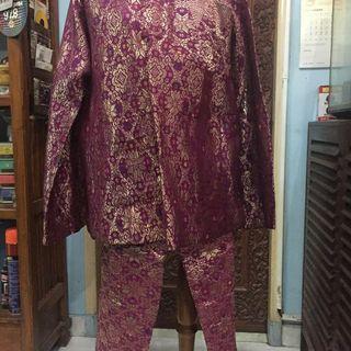 Baju Akad Songket Pria