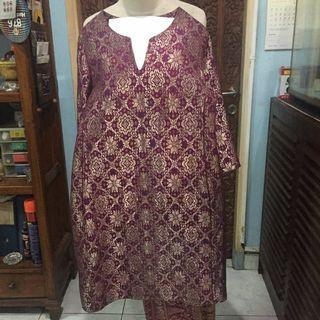 Baju Akad Songket Wanita