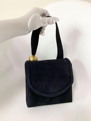 💯真品Auth 大特價SALE Mamica vintage suede Bag 網紅大熱超人氣經典復古真皮手袋 意大利製
