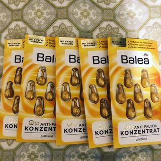 Balea 黃色 Q10 抗皺膠囊