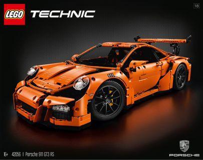 全新送貨盒未開有單 LEGO 樂高 Technic Porsche 保時捷 Porsche 911 GT3 RS 42056