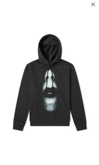 Marcelo Burlon mouth over popover hoody