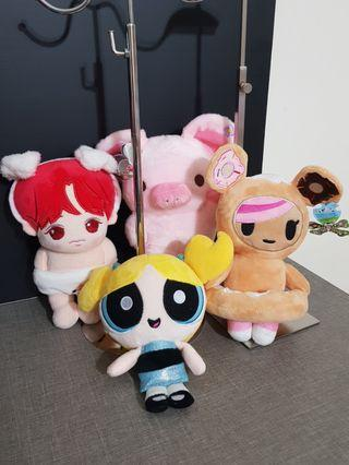 BN All 4 plush for $12