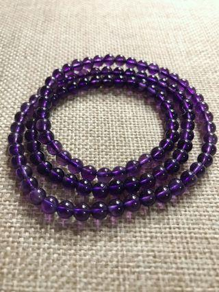 🚚 5mm Premium Amethyst Bracelet