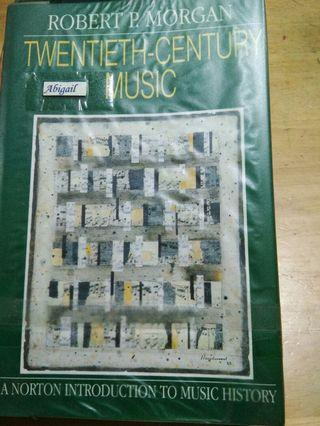 Music reference - Twentieth  Century Music (a Norton Introduction to Music History) by Robert P. Morgan