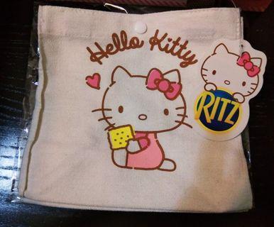 💕【台灣限定】Hello Kitty手挽袋