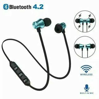 Headset Bluetooth 4.2 Magnetik Surround