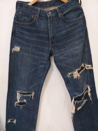 Distressed/Patchwork Grunge Levi's 503-03