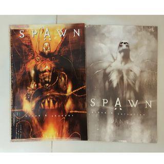SPAWN: blood & shadows + SPAWN: blood & salvation (Paul Jenkins, Ashley Wood)