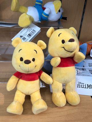 快閃 日本代購 Disney Store 迪士尼 nuiMOs 公仔 Winnie the Pooh 維尼 / Tigher 跳跳虎 / Piglet 豬仔 / Eeyore 公仔