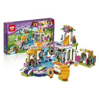 Lepin 01013 Girls Club Heartlake Summer Pool (41313)