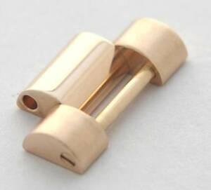 Rolex rose gold president bracelet link 118205 118235 etc