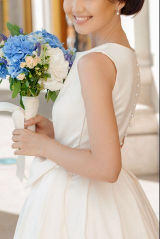 Tailor made wedding gown