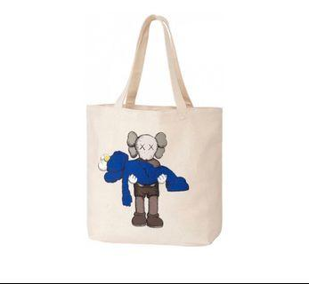 全新Uniqlo Kaws Tote Bag環保袋