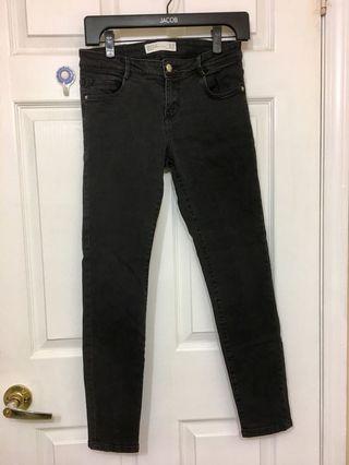 Zara black denim pants