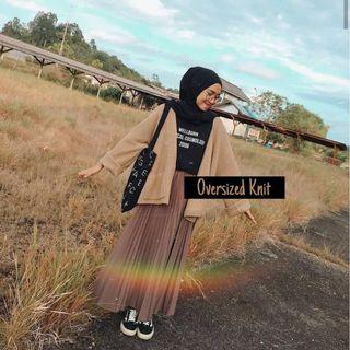 Oversized Knit Rajut Outer Kardigan