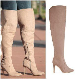 (Just Fab) Knee High Boots (Size 8)