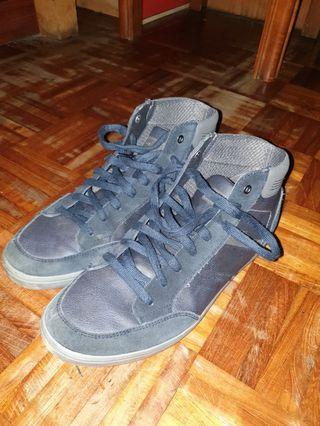 Geox suede canvas