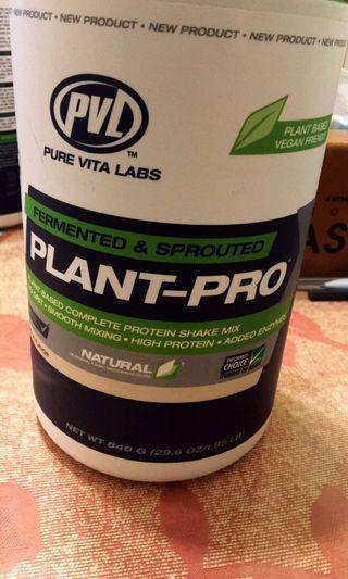 植物性蛋白質粉(香草口味)