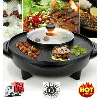🍗PREMIUM 2 in1 BBQ Grill & Steamboat🍗