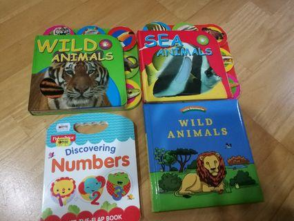 Animals and Numbers books