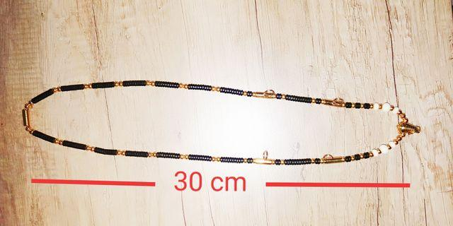Gold Micron 5 Hooks Coconut Beads With man make Ivory Beads Necklace for Thai Amulet