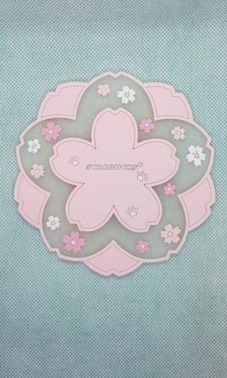 🚚 Starbucks coaster (Pink Sakura)