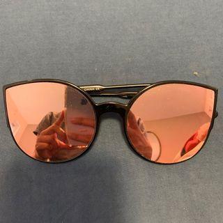 Blacked Rim Sunglasses