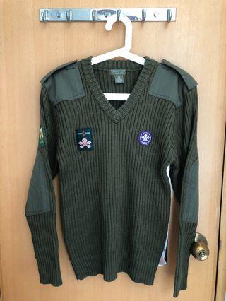 童軍外套 scout jumper size 36
