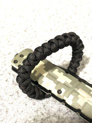 Paracord Bracelet ❤️HER  TACTICAL BRACELETI IN ALL BLACK 🔥I'M NEW IN STOCK🔥HANDMADE MADE IN SG 🇸🇬🔥FREE POSTAGE 🔥