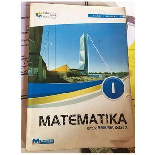 Buku Matematika MTK kelas X 10