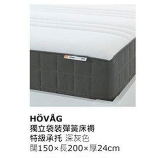 倒數65折 HOVAG 雙人床褥 New IKEA Mattress