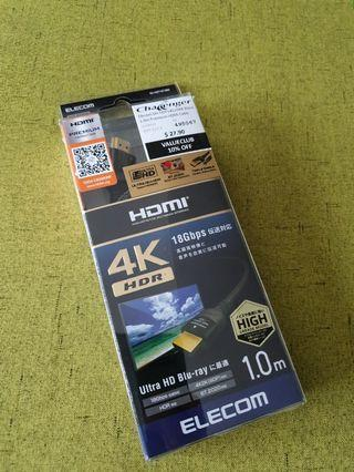 🚚 HDMI Cable 18gbps