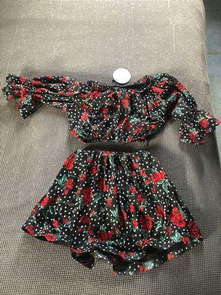 Toby heart ginger brand new set size xs