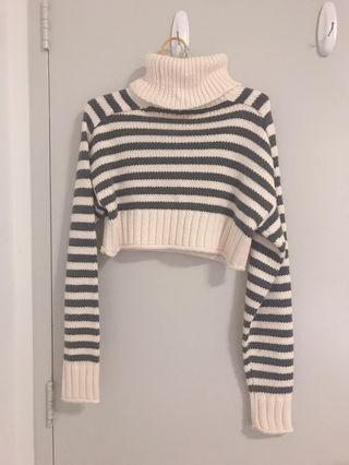 ZARA knitted crop jumper