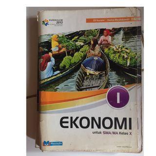 Buku ekonomi SMA kelas X