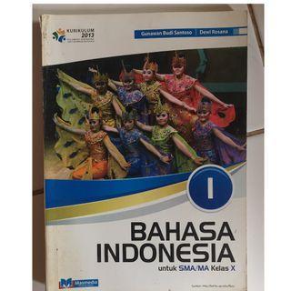 Buku Bahasa Indonesia kelas 10
