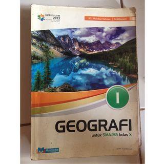 Buku Geografi kelas 10