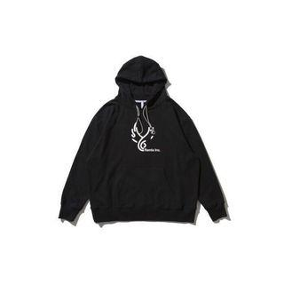 REMIX 帽T REMIX '18 A/W FACE2 HOODY TEE 黑色 Wing Logo 初一  yahoo